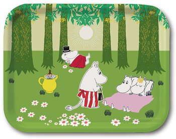 Moomin tray - Relaxed
