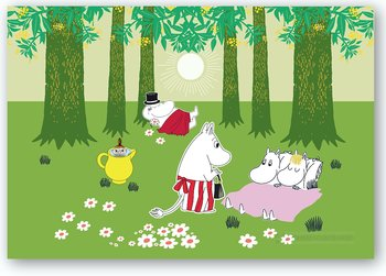 Moomin Table mat - Relaxed