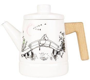 Moomin Enamel Coffee Pot - 1,6 l - Missing you