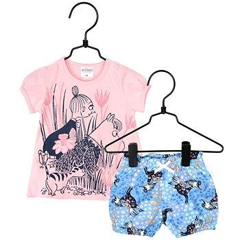 Moomin Shorts set - Lilies