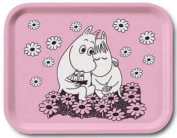 Moomin tray, Love