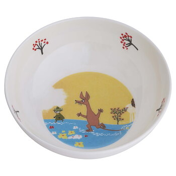 Moomin Bowl, Forest & Lake (Yellow)