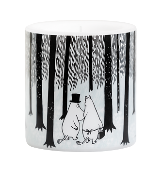 Moomin Candle - In the woods 8 cm