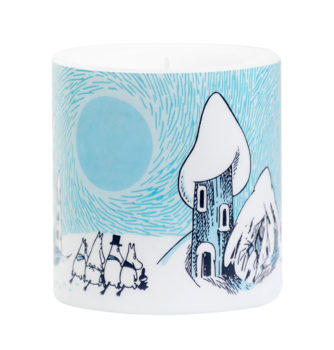 Moomin Candle - Snowy Valley 8 cm