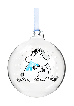 Moomin Decoration Ball - Cuddle