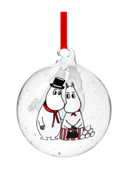 Moomin Decoration Ball - Moominpappa & Moominmamma