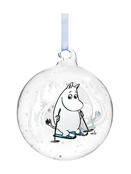 Moomin Decoration Ball - Ski trip