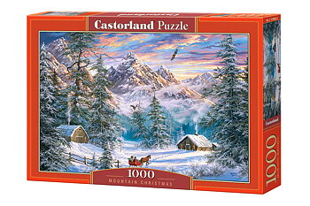 Mountain Christmas 1000 Bitar Castorland