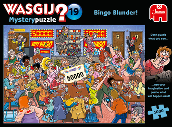 Wasgij Mysery#19 Bingo Blunder! 1000 Bitar Jumbo