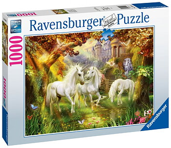 Unicorns in the Forest 1000 Bitar Ravensburger
