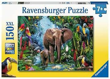 Elephants at the oasis 150 XXL Ravensburger