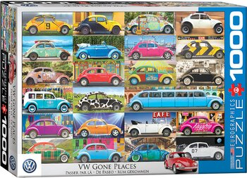 VW Gone Places 1000 Bitar Eurographics puzzle