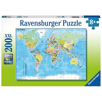 Map of the World 200 Bitar Ravensburger