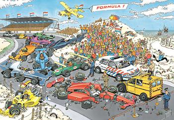 Formula 1. The Start 2000 Bitar JvH Jumbo
