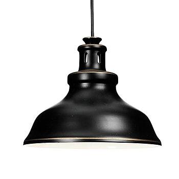 Svart Fönsterlampa Rustik