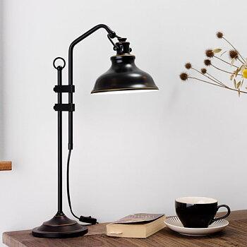 Svart Bordslampa Rustik