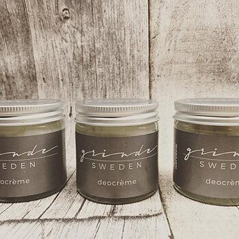 Grinde Sweden Ekologisk Deodorant (M), 30 ml