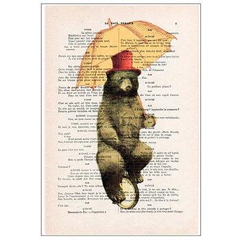 Cyklande björn