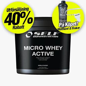 Self Micro Whey Active 1 kg *Utförsäljning -40%*