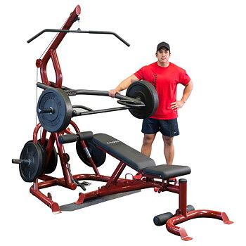 Body-Solid GLGS100 Corner Leverage Gym med GFID100 *Åter i lager*