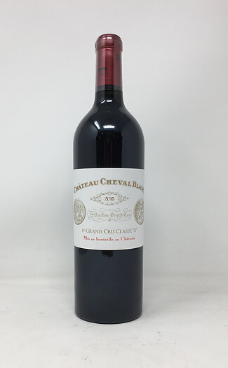 2015 CHATEAU CHEVAL BLANC BDX , 75 cl