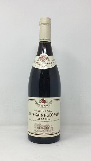 2007 NUITS SAINT GEORGES LES CAILLES BOUCHARD, 75 cl