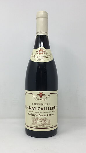 2011 VOLNAY CAILLERETS CUVEE CARNOT BOUCHARD, 75 cl
