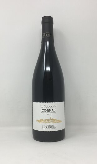 2017 CORNAS SABAROTTE COURBIS, 75 cl