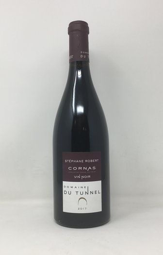 2017 CORNAS VIN NOIR TUNNEL, 75 cl