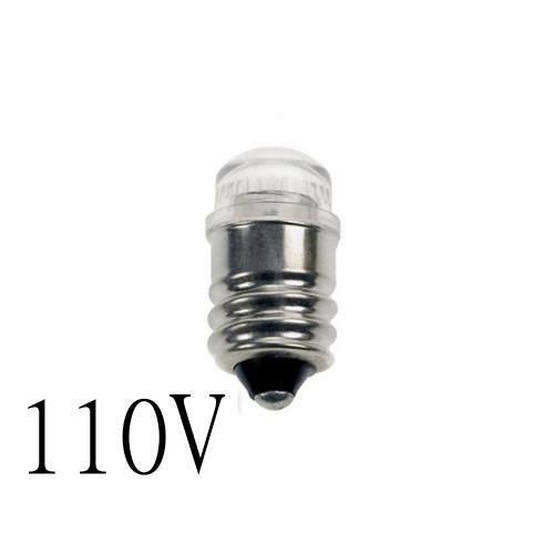Glimlampa utan inbyggt motstånd E14 2mA 110V lamportillallt