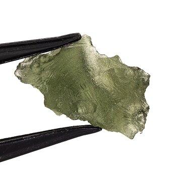 Moldavite.  16x10x6 mm