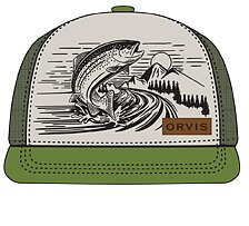 Orvis Jumping Trout Trucker
