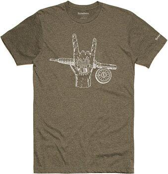 Simms Hackett Rocker T-shirt Olive Heather