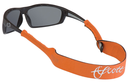 Scott Neoprene Sun Glass Leash Small End Orange
