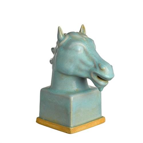 Dekorativt djurhuvud, hästens år