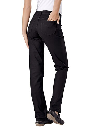 Hejco Ladies Stretch Jeans BLACK size C40