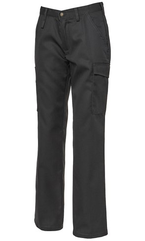 Segers Ladies Worker Style Chino Black - CLEARANCE