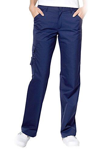 Hejco Ladies novazzino Leg Pocket Trouser - NAVY - C42 - sale