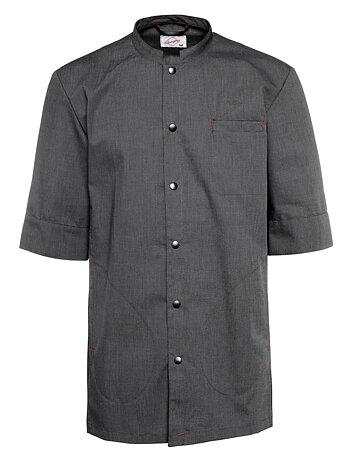 Segers Short Sleeve Waiters Jacket Anthracite - MEDIUM - sale