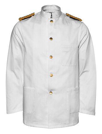 Segers Waiters White Jacket Mens - CLEARANCE