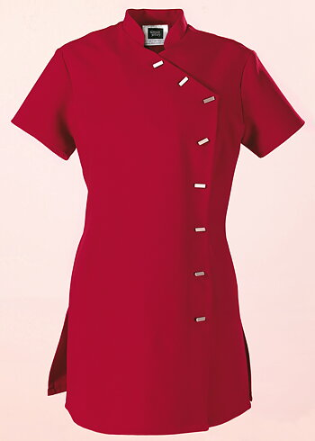 Simon Jersey Ladies Asymmetrical Tunic Red Size 12