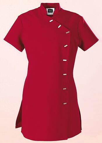 Simon Jersey Ladies Asymmetrical Tunic Red Size 10