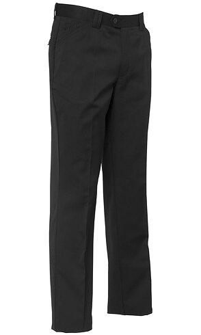 Segers Men'S Black Cotton/Pol Trousers - CLEARANCE