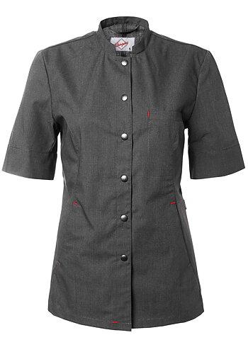 Segers Ladies Lightweight Waitersjacket Grey XL - CLEARANCE