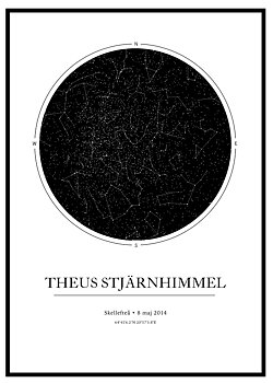 Star Map - Unique Poster