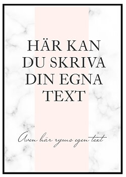 Your own text
