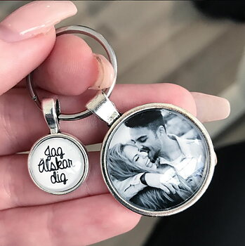 Photo key ring (love)