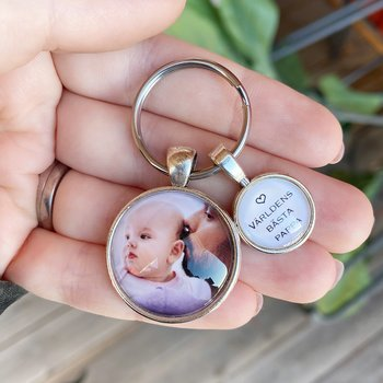 Photo key ring (for dad)