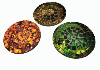 Mosaik Underlägg / Mandala - Cirkel