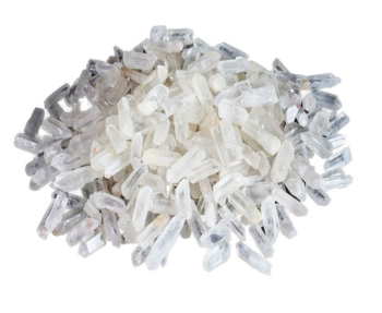 """Bergkristall Spetsar-  """"Needle"""" Kristaller"""